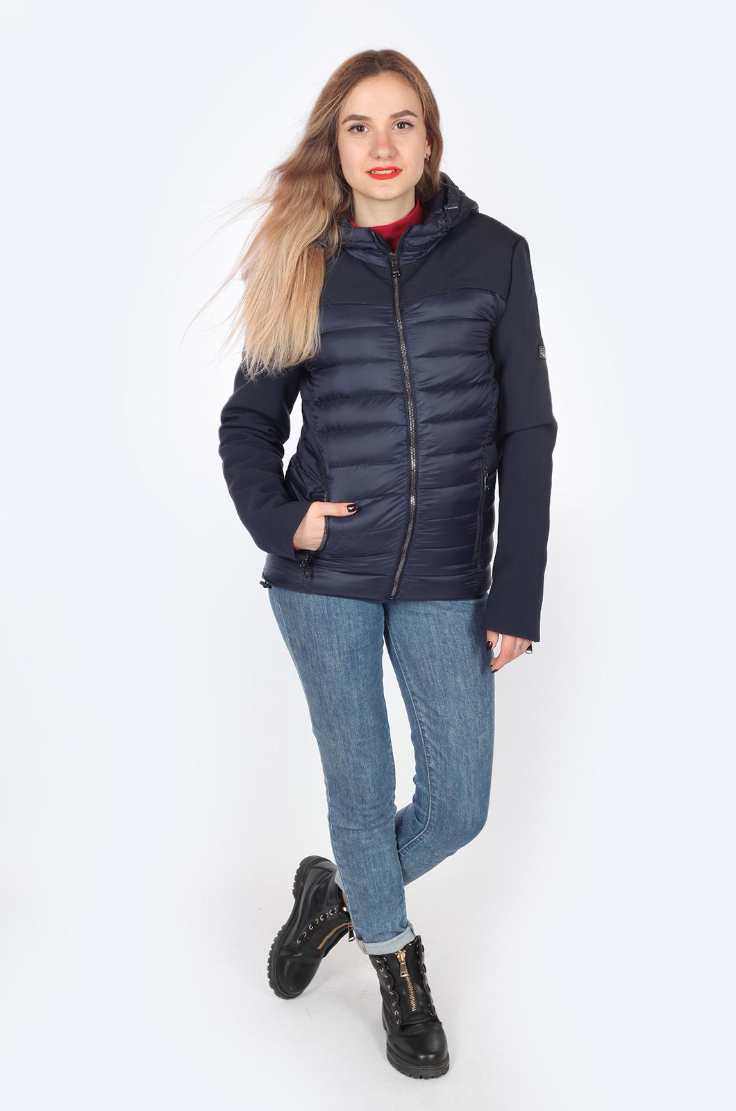 Комбинированная куртка с капюшоном – ХИТ продаж