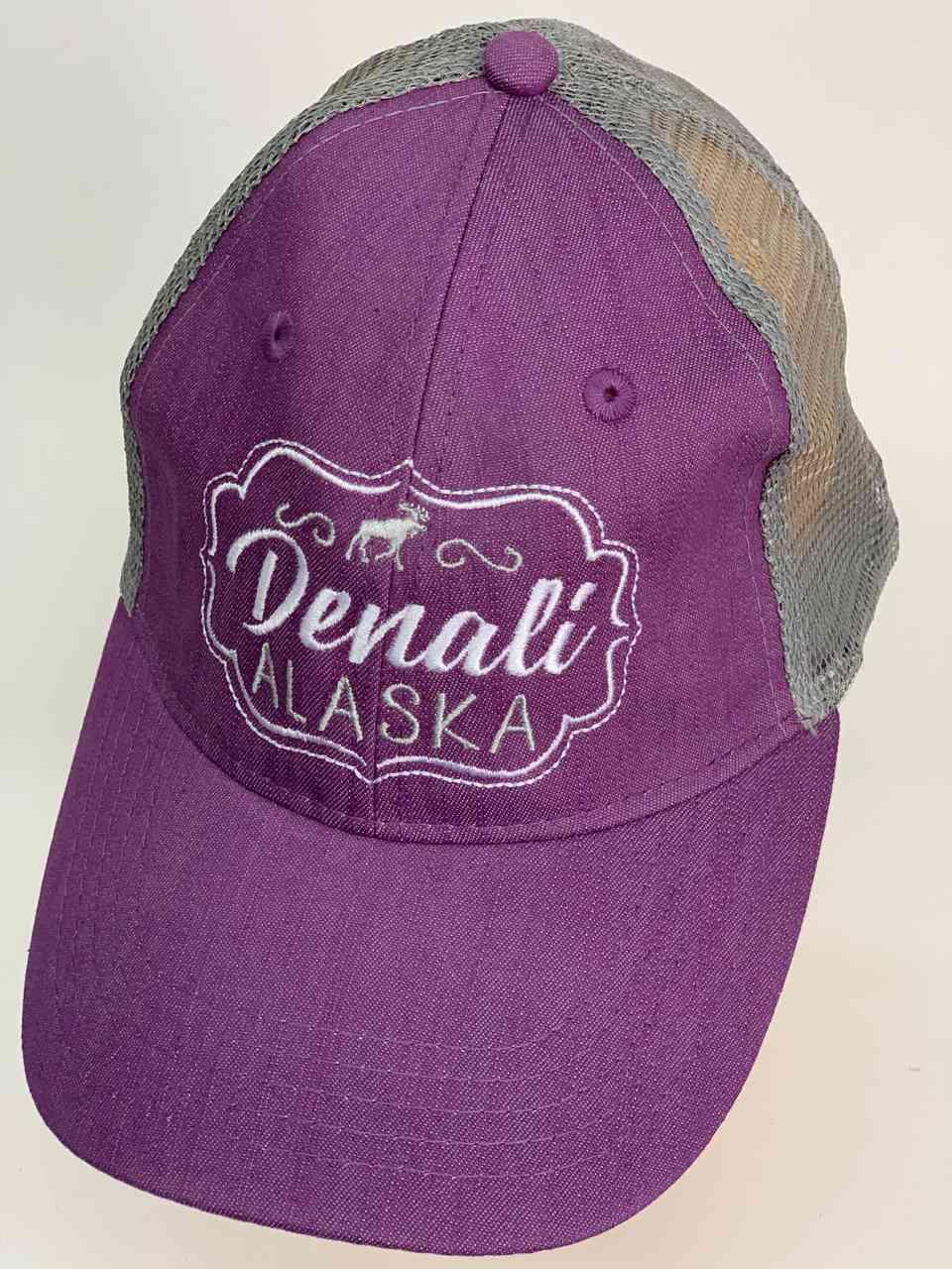 Сиреневая бейсболка Denali ALASKA