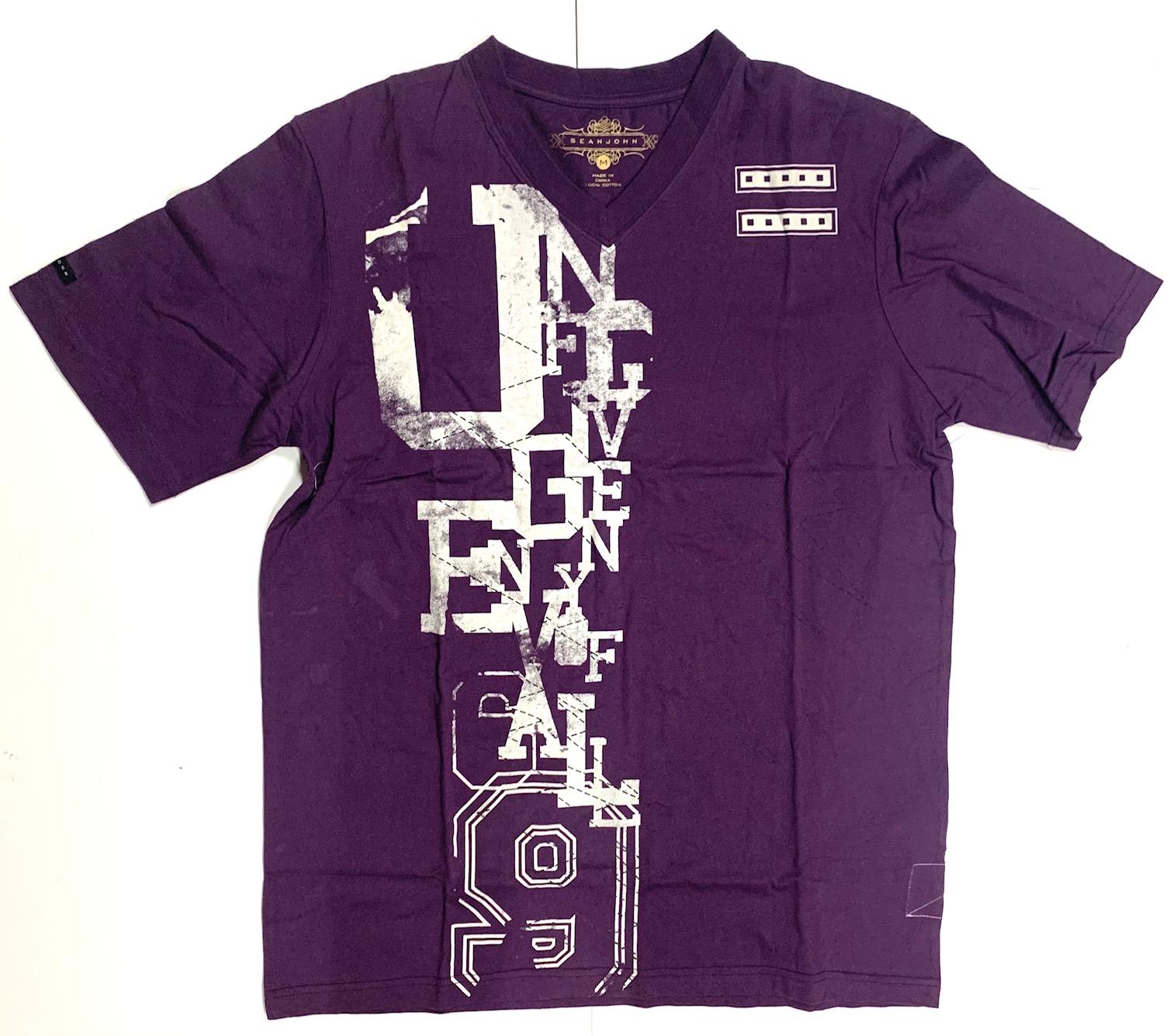 Сиреневая футболка от SEANJOHN