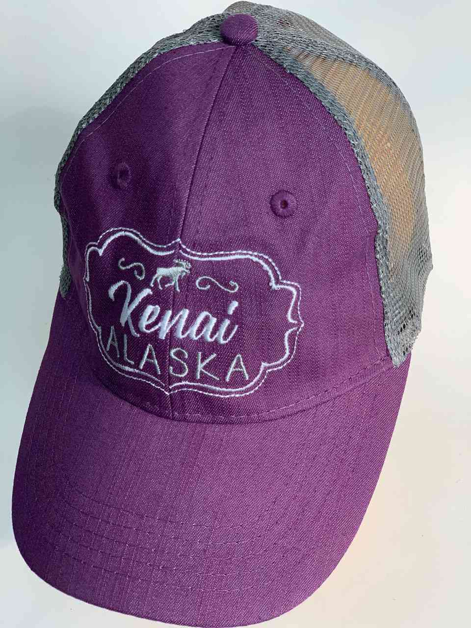 Сиреневая кепка Kenai Alaska