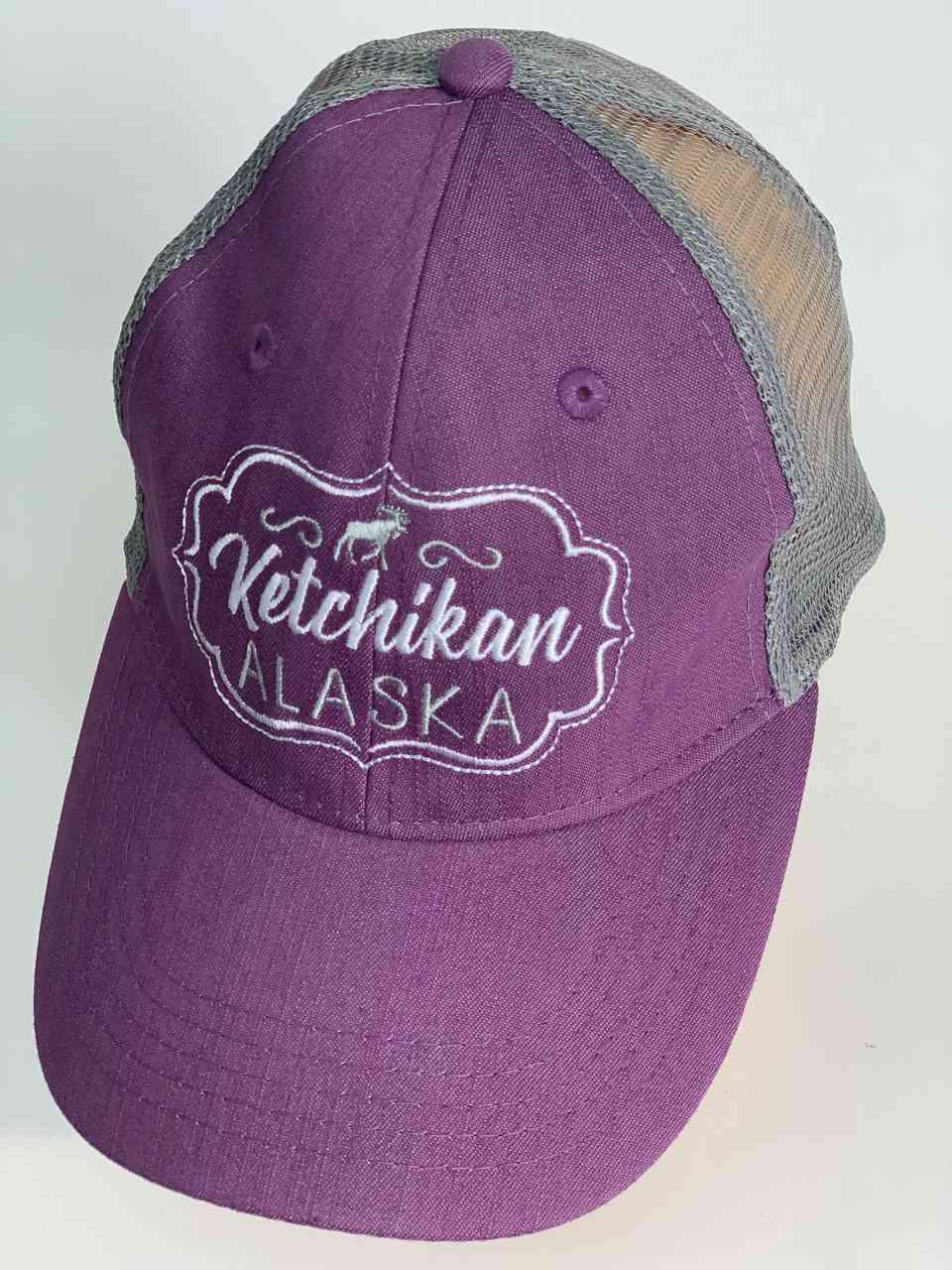 Сиреневая мужская бейсболка KETCHIKAN Alaska