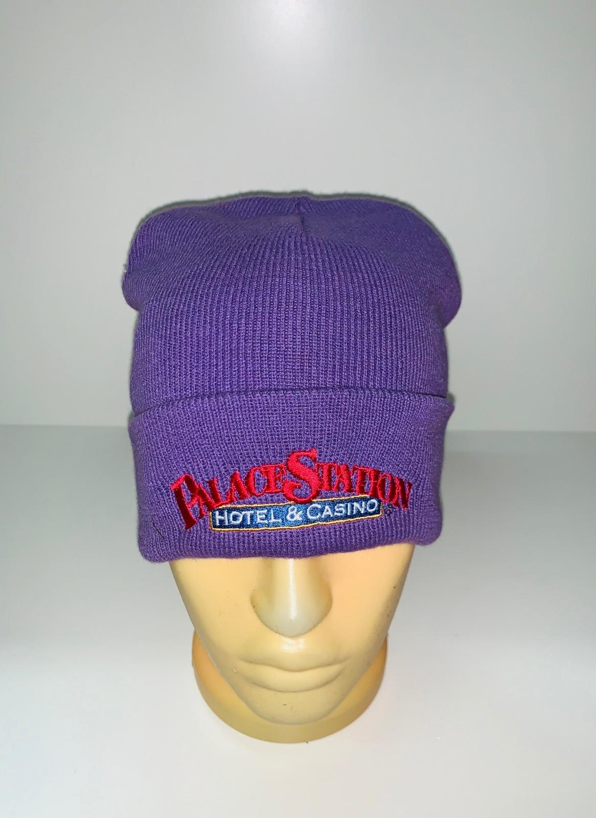 Сиреневая зачетная шапка