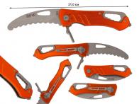 Складной многофункциональный нож Fury Tactical 99145