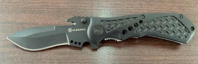 Складной нож Albainox с удобной рукоятью