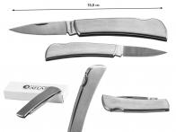 Складной нож KutMaster 11-131029CP Gentleman's Stainless Lockback