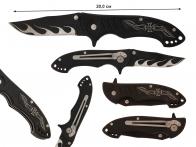 Складной нож байкера Chopper Iron Cross Folder