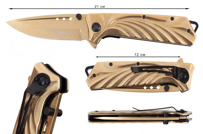 Складной нож Boker Gold