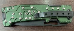 Складной нож Boker с зеленой рукояткой