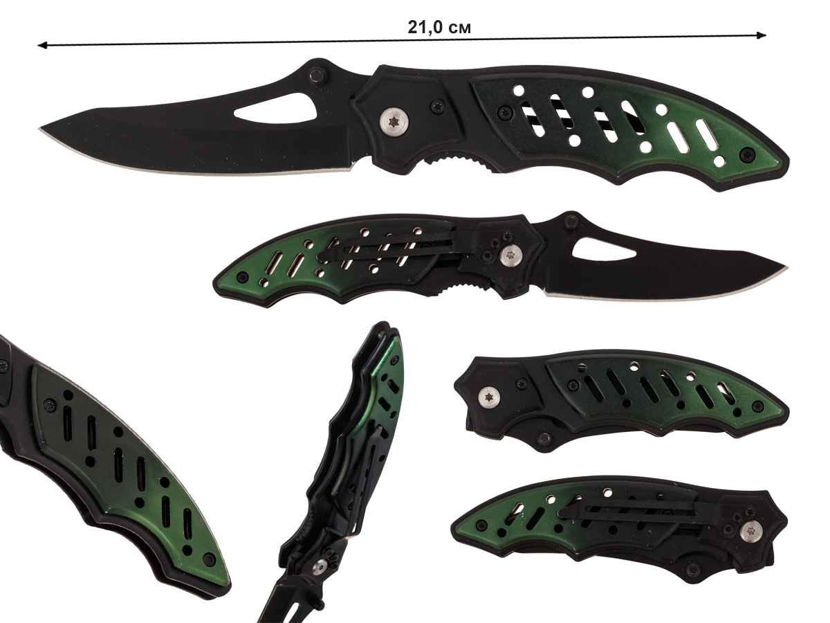 Складной нож Buffalo River Maxim-Series BKGR