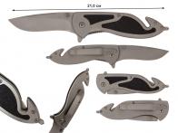 "Складной нож Frost Cutlery Silencer Rescue BLK 4 1/2"""