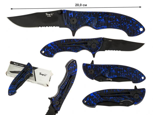 Складной нож Fury Knives 51033 - купить по выгодной цене