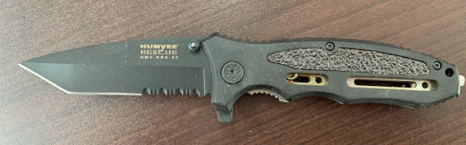 Складной нож Humyee Rescue со стропорезом