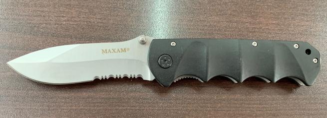 Складной нож Maxam с удобной рукояткой