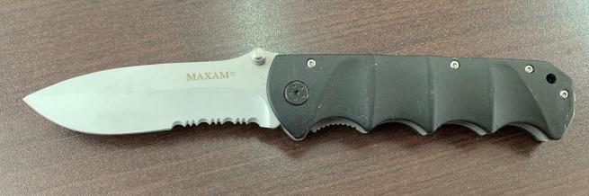 Складной нож Maxam со стропорезом