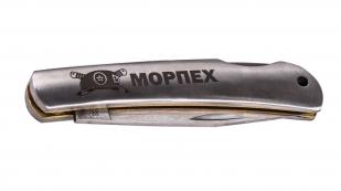 Складной нож морпеха с гравировкой от Военпро