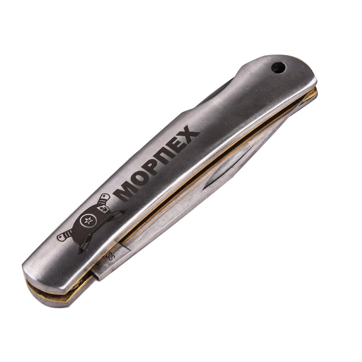 Складной нож морпеха с гравировкой с доставкой