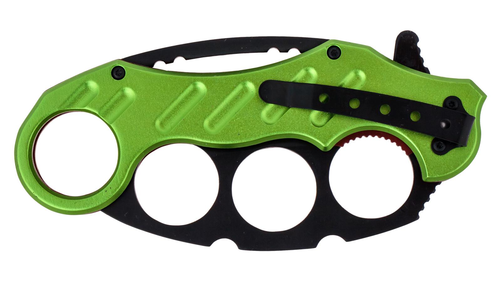Складной нож Mtech MT-A863 Zombie Green - купить по низкой цене