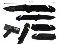 Складной нож RUKO 144S с полусеррейторной заточкой