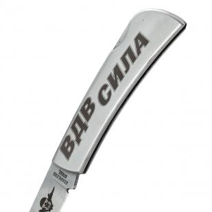 """Складной нож с гравировкой """"ВДВ - СИЛА"""" высокого качества"""
