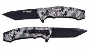 Складной нож с клинком танто Cold Steel 213 Tanto Camo по лучшей цене