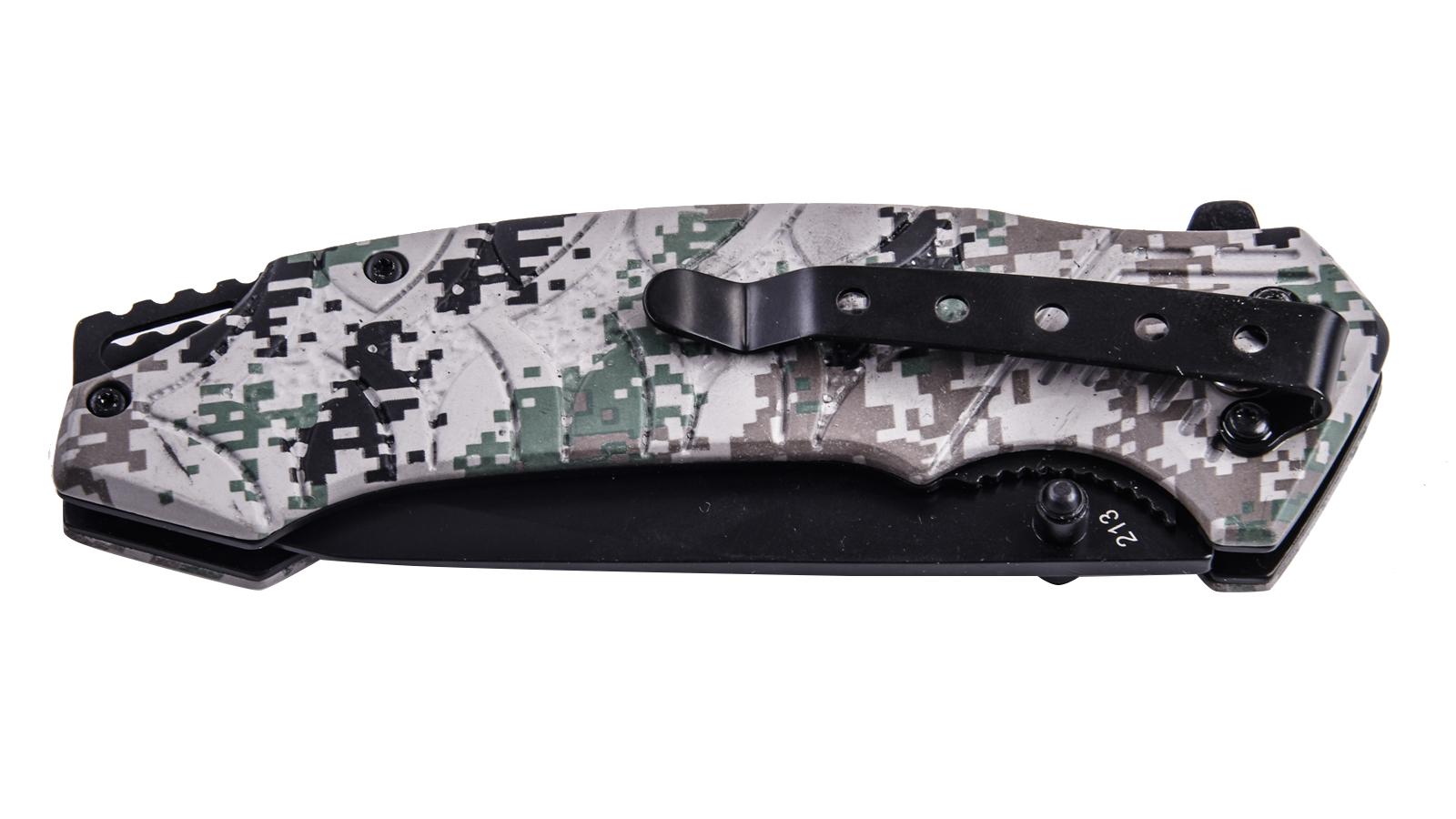 Заказать складной нож с клинком танто Cold Steel 213 Tanto Camo