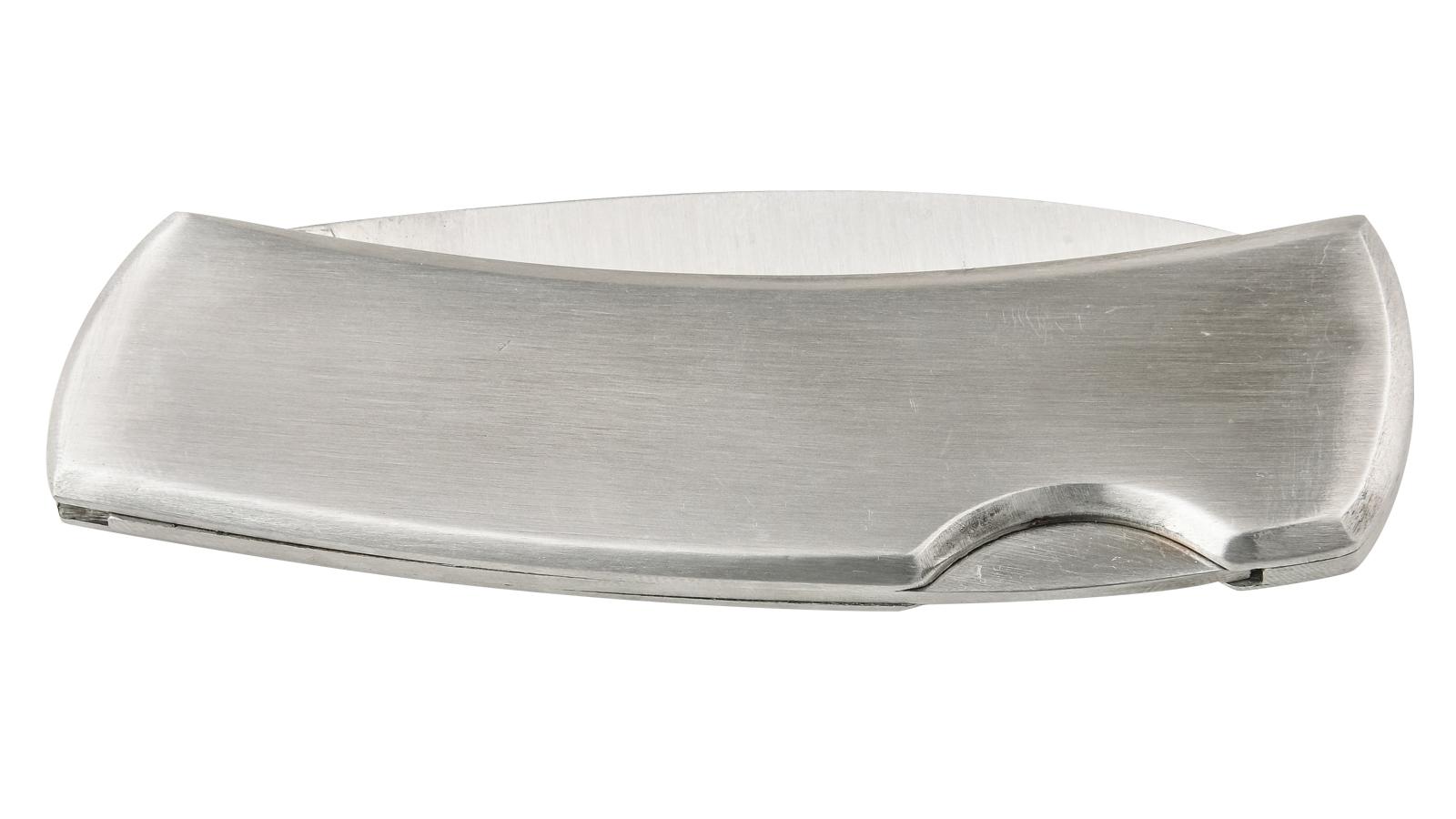 Складной нож с металлической рукояткой 007S