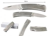 Складной нож с металлической рукояткой Rite Edge Flat Engravable Folder