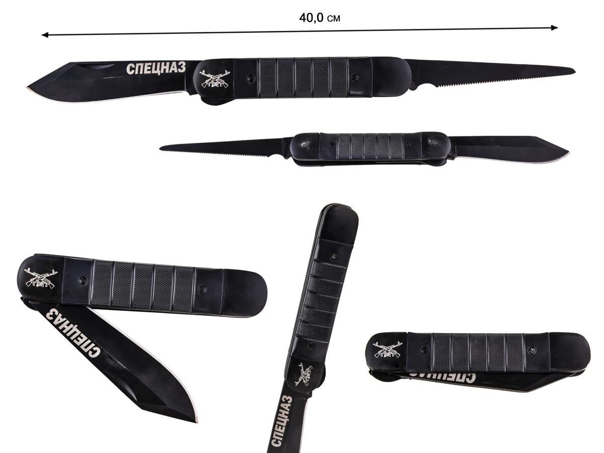 Складной нож с символикой спецназа