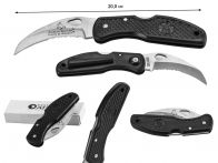 Складной нож с зазубренным лезвием Smith & Wesson Cuttin Horse TB50