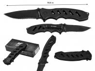 "Складной нож Sarge SK-801 Black 7.75"" Folder (США)"