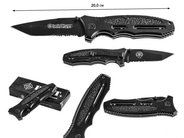 Складной нож Smith & Wesson Extreme Ops CK33TBS (США)