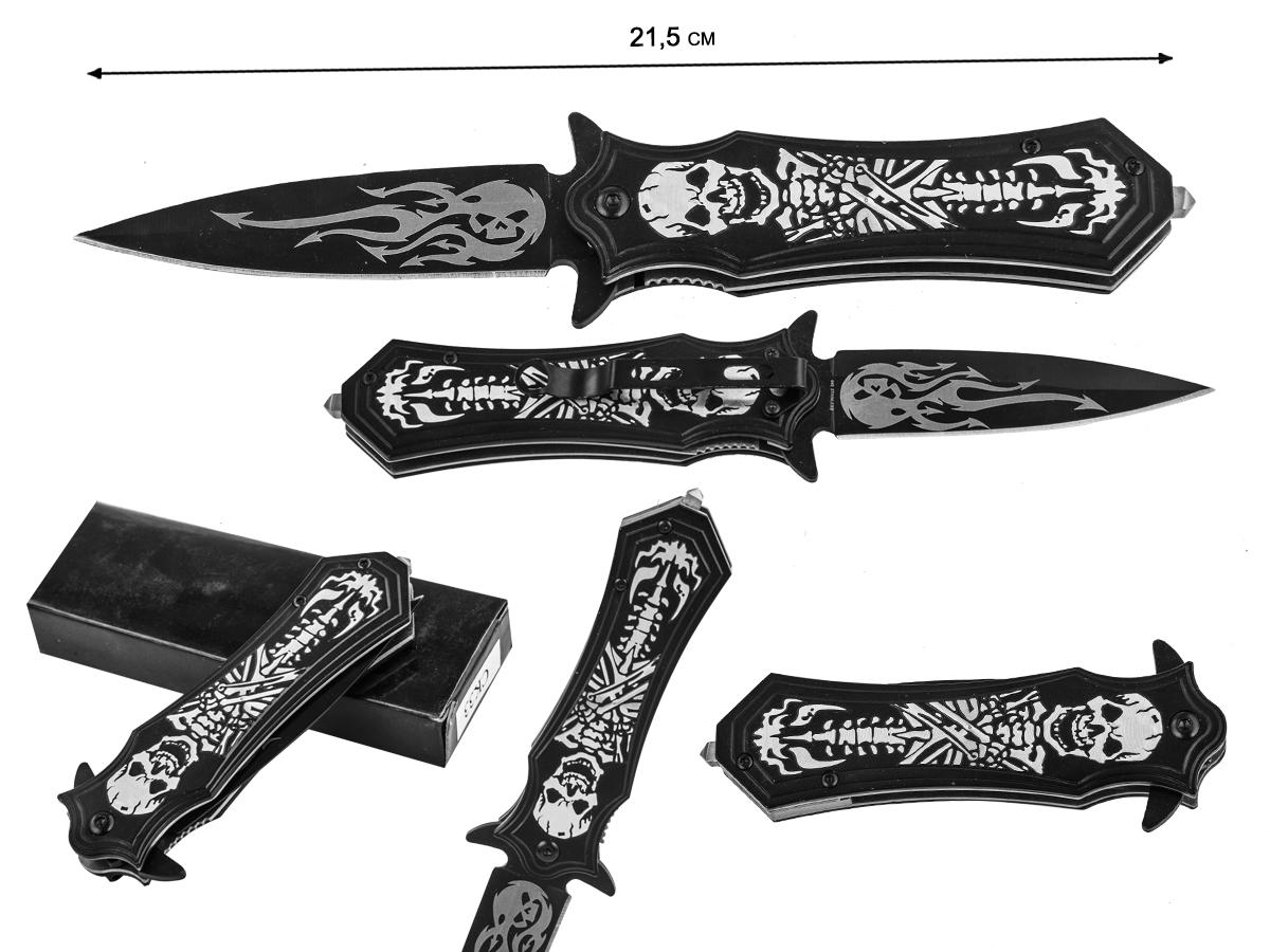 Складной нож со скелетом Gen Pro Reaper 3.5in Blade Assisted (США)