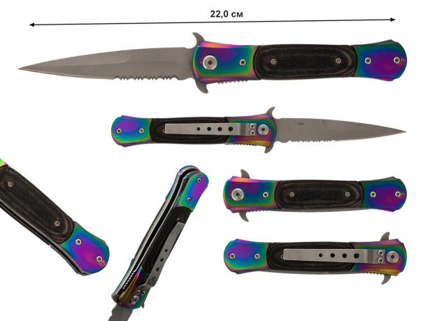 Складной нож Stiletto Spring Assisted RB-220 - купиить по выгодной цене