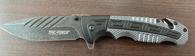 Складной нож Tac-Force со стеклобоем и долами