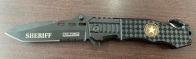 Складной нож Tac-Force со стропорезом и долами