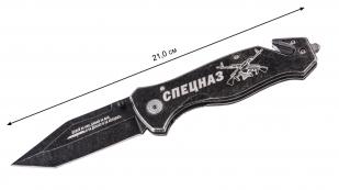 """Складной нож танто """"Спецназ"""" с гравировкой"""