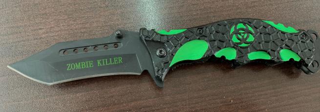 Складной нож Убийца зомби