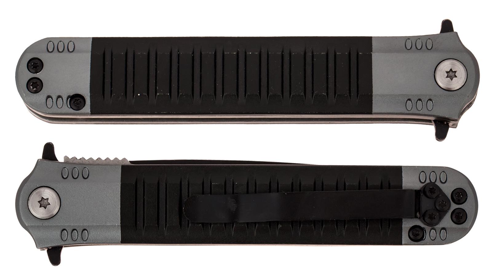 Складной нож Covert Black Plain UZK-FDR-009