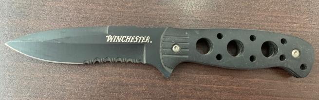 Складной нож Winchester со стропорезом