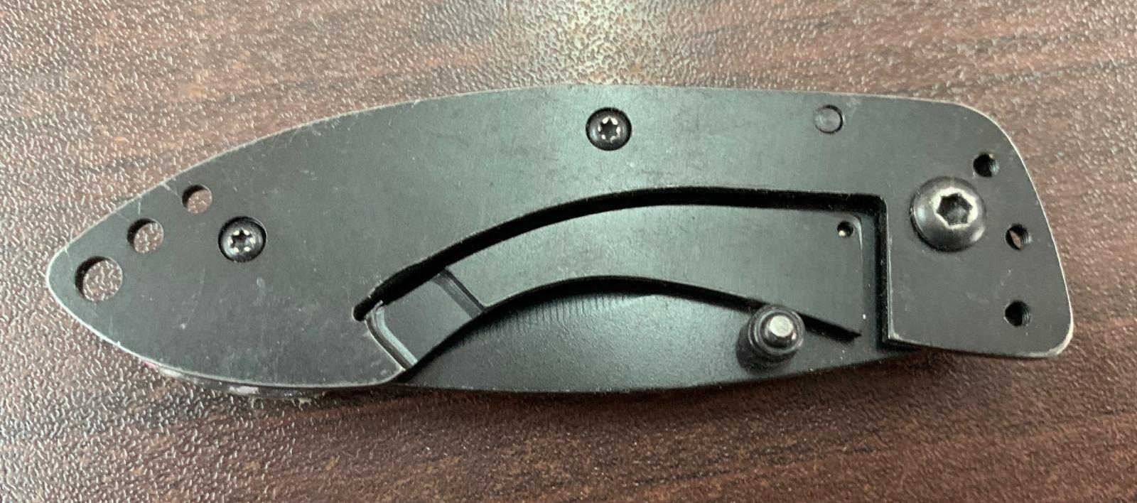 Складной оригинальный нож Moon Shine
