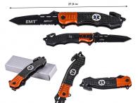 Складной спасательный нож Mtech MT-740 EMT