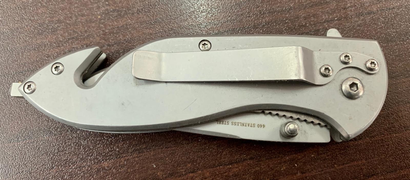 Складной стильный нож Boker со стеклобоем