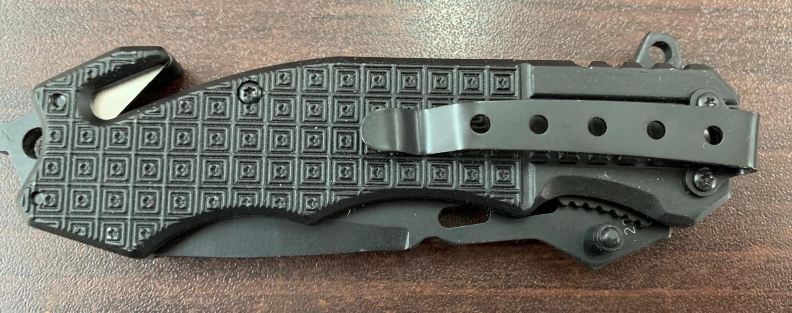 Складной тактический нож Cold Steel с долами и стропорезом