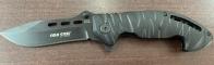 Складной тактический нож Cold Steel с отверстиями на лезвии