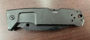 Складной тактический нож с надежной рукоятью