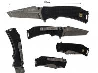 Складной тактический нож US Army A-A1021BP Liner Lock Black