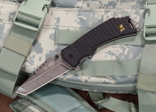 Складной тактический нож US Army A-A1021BP Liner Lock Black - заказать онлайн