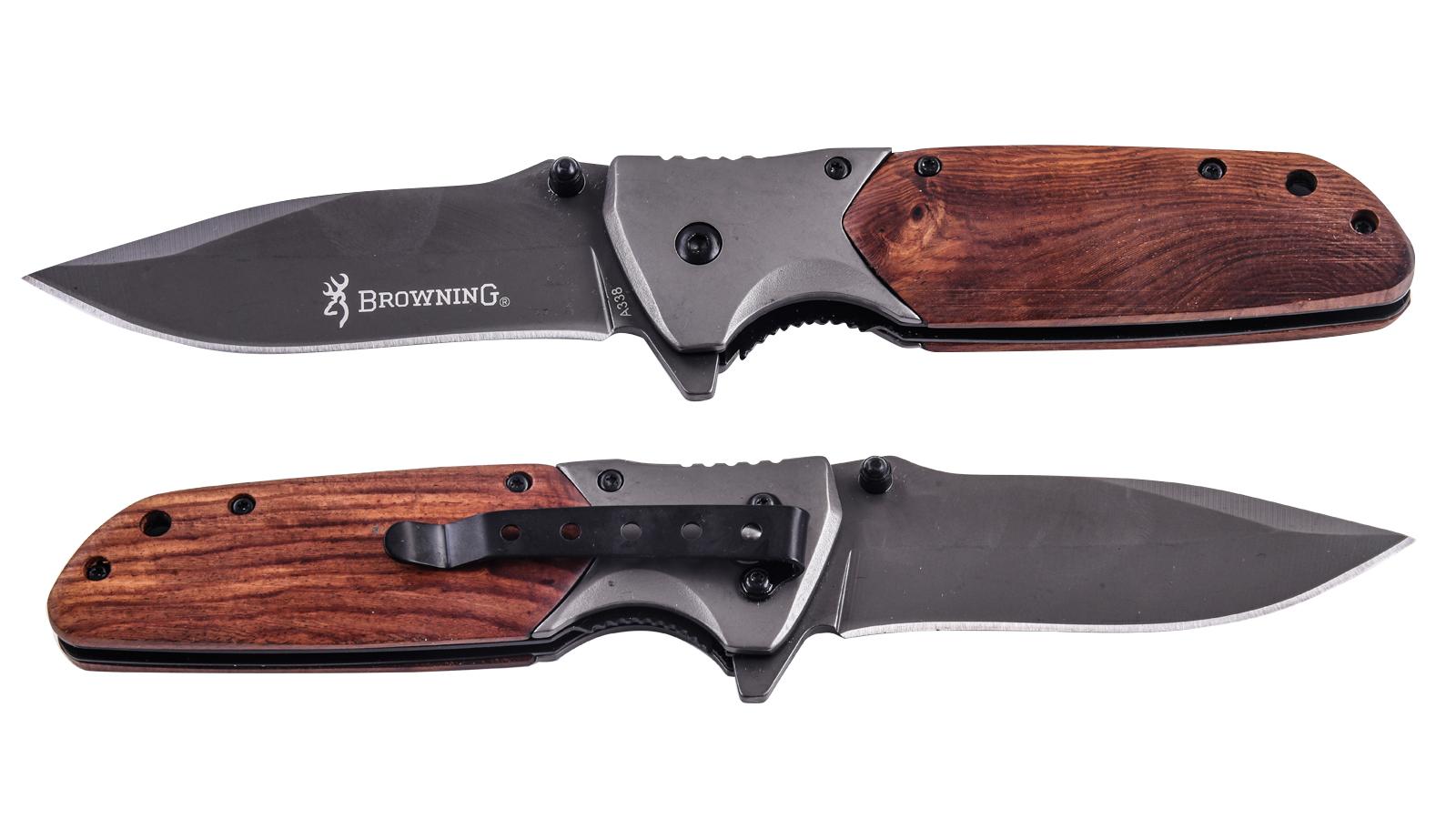 Складной туристический нож Browning A338 по лучшей цене
