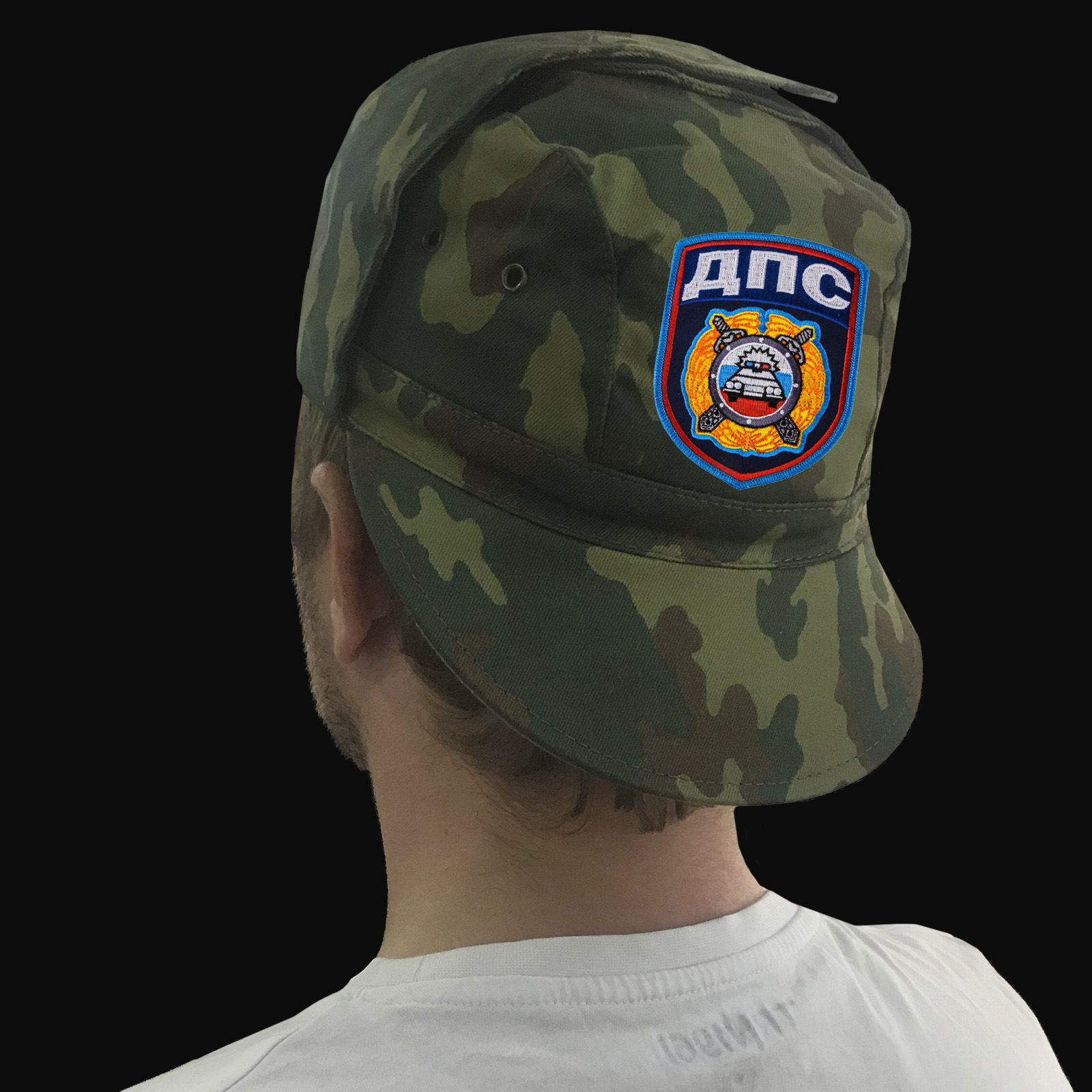 Мужская кепка с шевроном Дорожно-патрульной службы