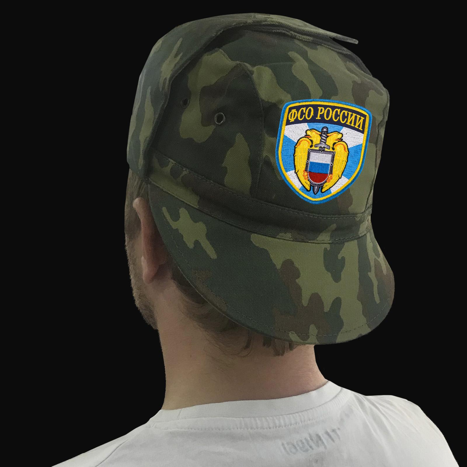 Символика ФСО на удобной и недорогой одежде: от кепок до шорт